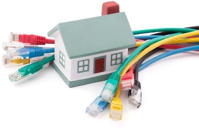 dra nätverkskabel hemma